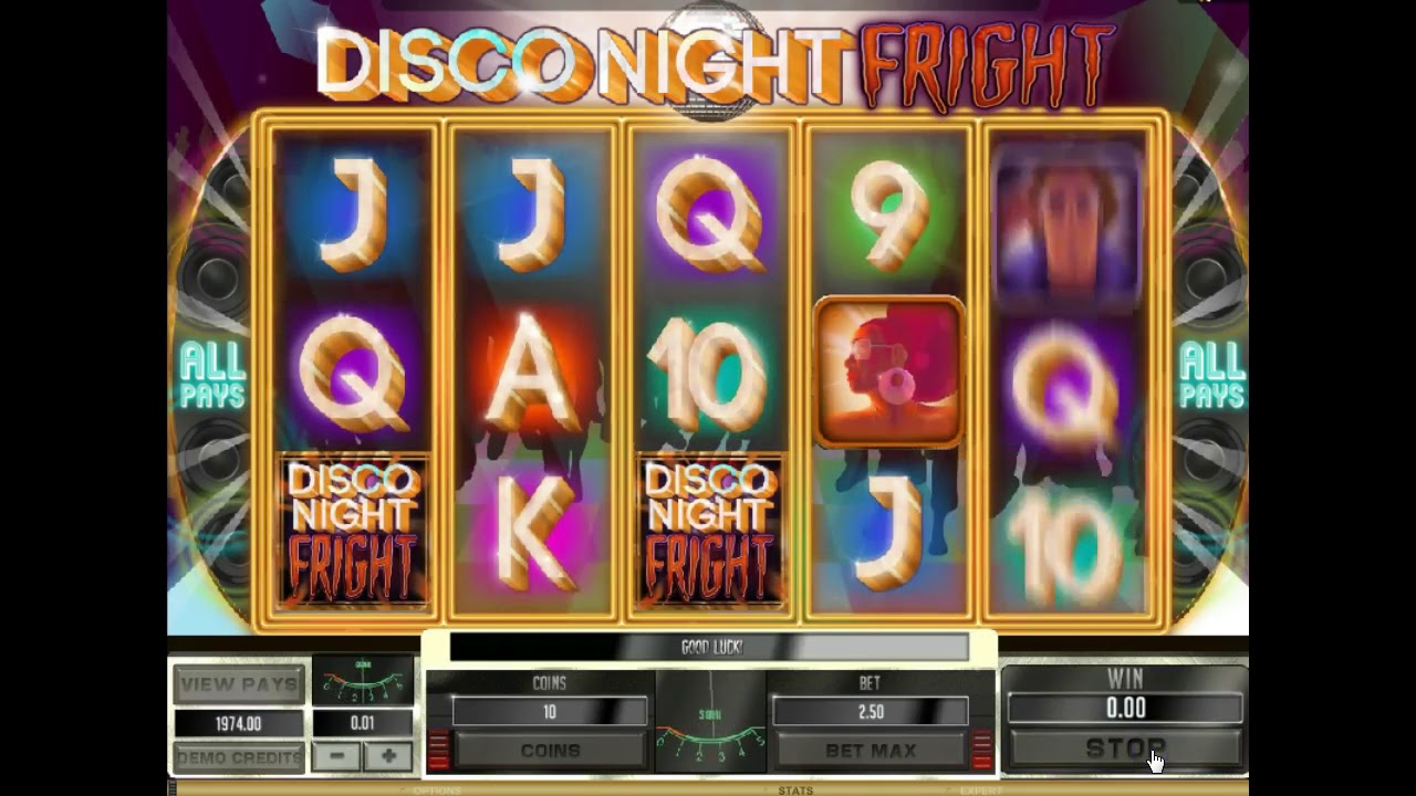 Disco Night Fright Slot Review & Guide Online